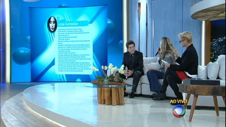"""Xuxa debate violência sexual com Daniel e Luana Piovani: """"Uma ..."""