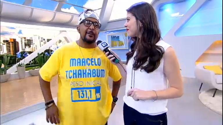 Intervalo: Marcelo Tchakabum diz que ficou com água na boca ao ...