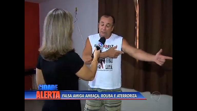 Falsa amiga ajuda criminosos a roubar enfermeiro em Campo Grande