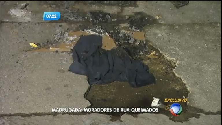 Moradores de ruas são queimados na zona norte do Rio de Janeiro ...