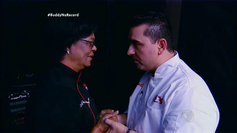 Após ser eliminada, Rosângela é consolada por Buddy Valastro ...