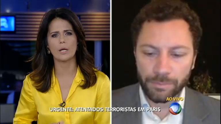 Brasileiro, que mora em Paris, conta sobre os momentos de tensão ...