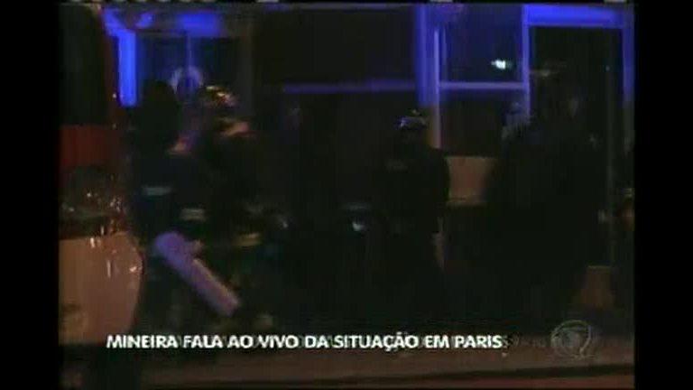 Mineira fala ao vivo no Balanço Geral MG sobre os ataques em Paris