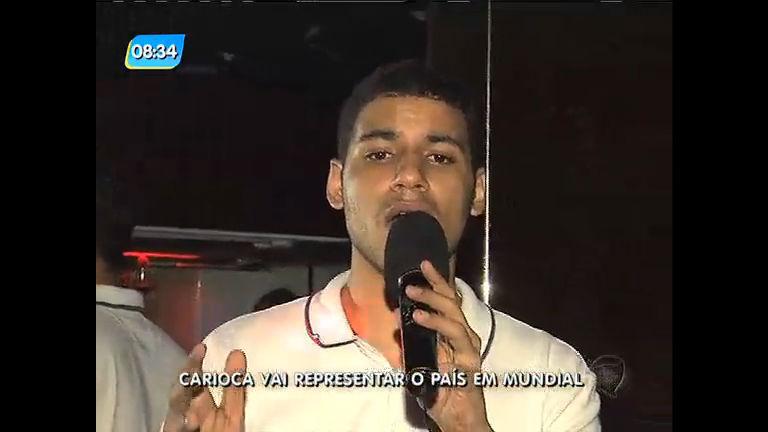 Carioca representa o Brasil em competição mundial de karaokê ...