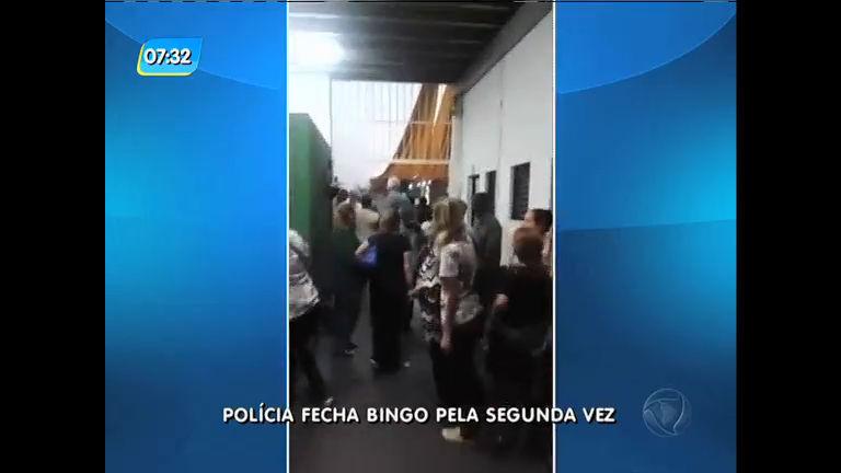 Polícia fecha bingo pela segunda vez em Vila Isabel - Rio de ...