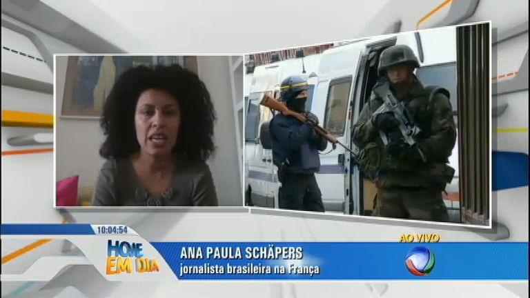 Brasileira que vive em Saint-Denis relata momentos de tensão na ...