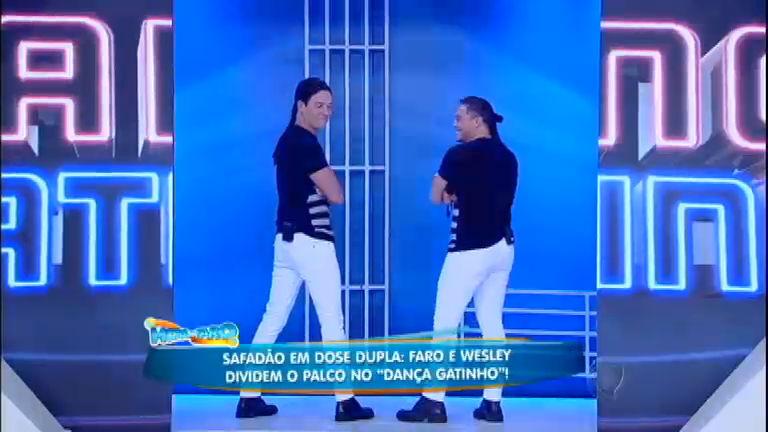 Rodrigo Faro imita Wesley Safadão no quadro Dança, Gatinho ...