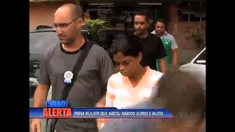 Polícia prende suspeita de matar marido surdo e mudo na baixada ...
