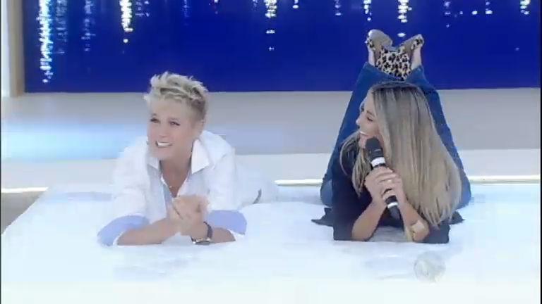 Xuxa se diverte com Ticiane Pinheiro; veja os melhores momentos desta segunda (23)