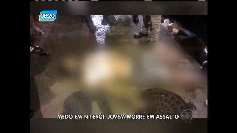 Homem é morto durante tentativa de assalto em Niterói
