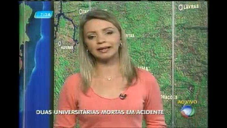 Universitárias morrem em acidente na BR-267 no sul de Minas