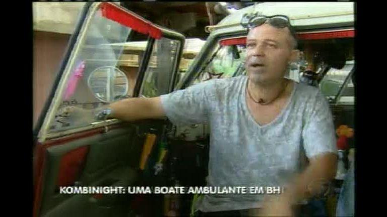 Kombinight: agente de turismo transforma veículo em boate ambulante