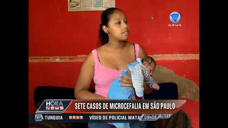 Sete casos de microcefalia são investigados em São Paulo - Record ...