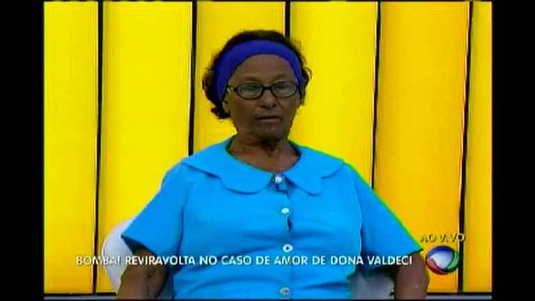 Bomba: reviravolta no caso de amor de dona Valdeci - Bahia - R7 ...