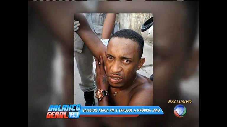 Traficante ataca PM com granada e explode a própria mão - Rio de ...