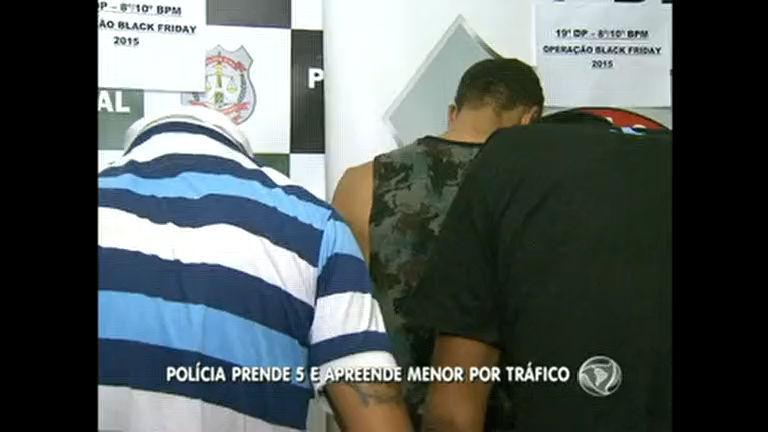 Cinco homens são presos em Ceilândia em um dia - Rede Record