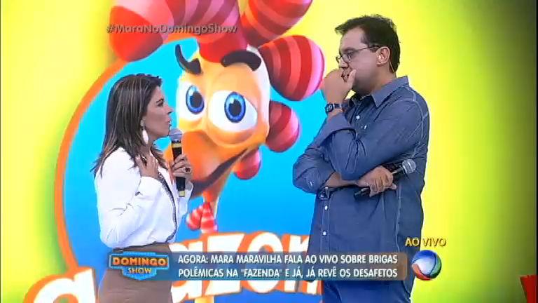 Mara diz suspeitar que Minerato está grávida de Thiago Servo