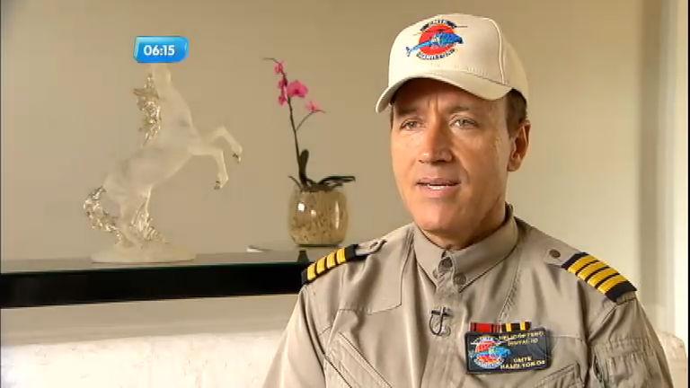 Comandante Hamilton fala o possível destino de helicóptero ...