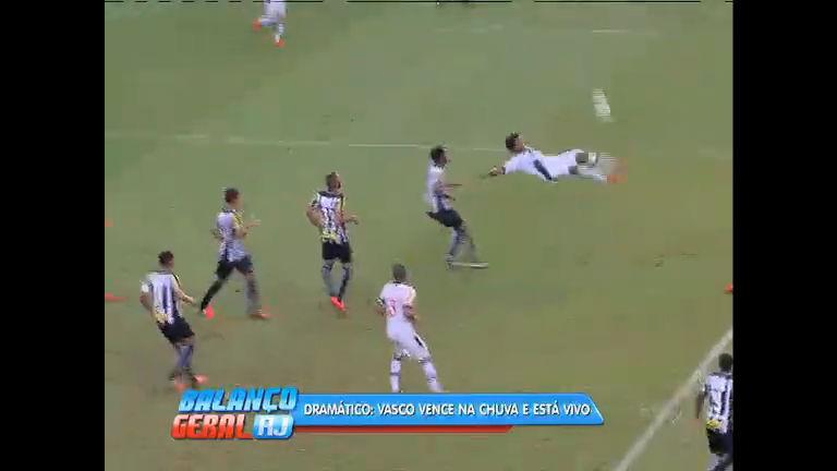 Brasileirão: Vasco vence jogo dramático contra Santos e continua ...