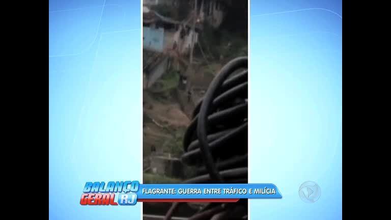 Flagrante: vídeo mostra pânico de moradores na guerra entre ...