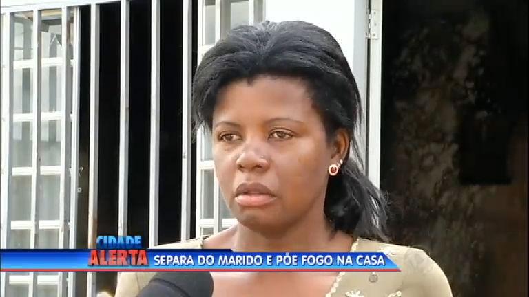 Mulher traída não aceita fim do casamento e bota fogo na própria casa