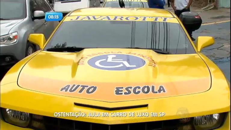 Autoescola ostentação dá aulas em carros de luxo em São Paulo ...