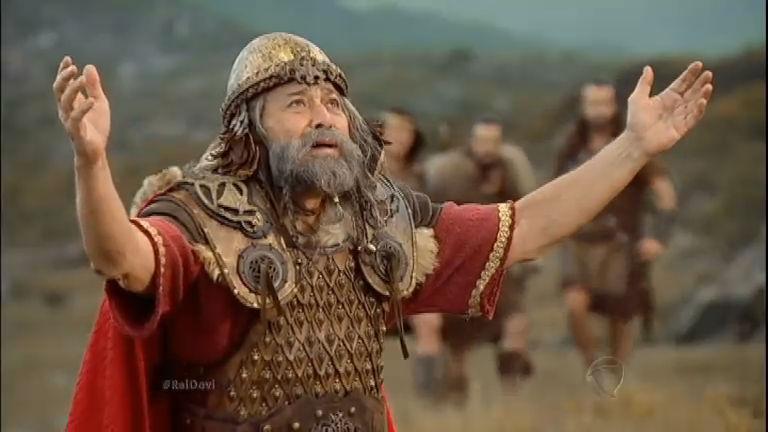 Assista aos melhores momentos de Rei Davi desta quarta-feira (2)