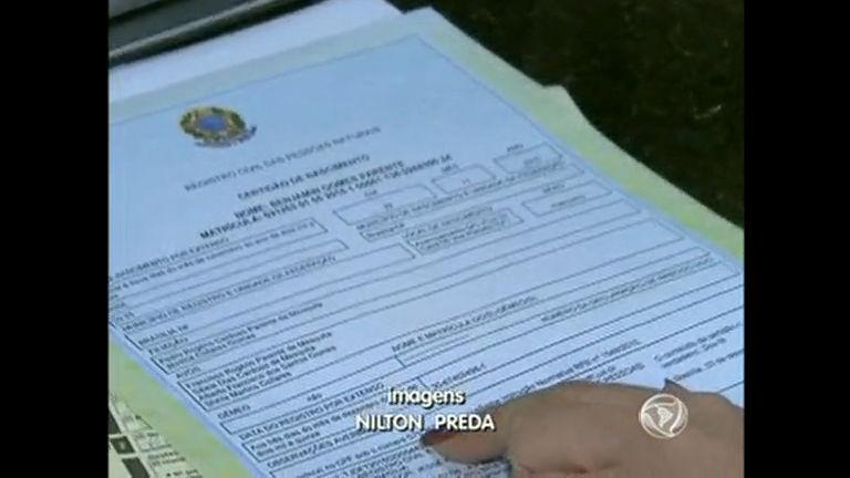 Certidão de Nascimento passa ter CPF incluso - Distrito Federal ...
