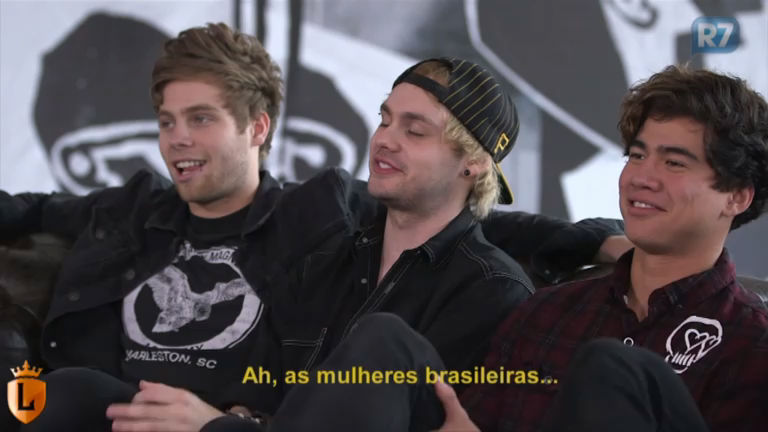 Exclusivo: integrantes do 5 Seconds Of Summer conversam com o ...