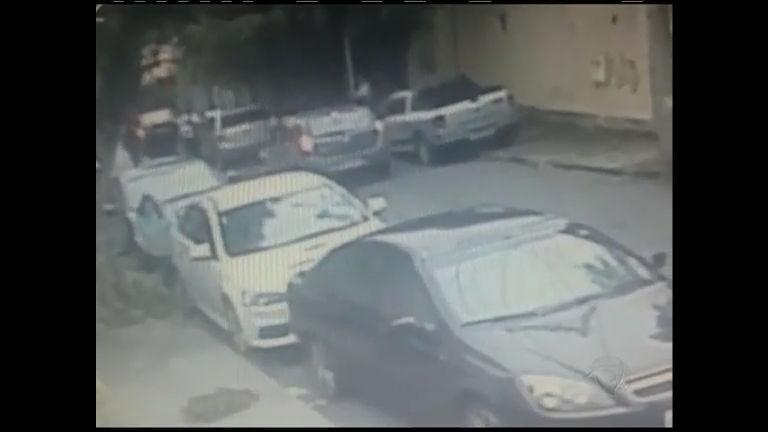 Flagrante: câmera de segurança registra arrastão em Niterói