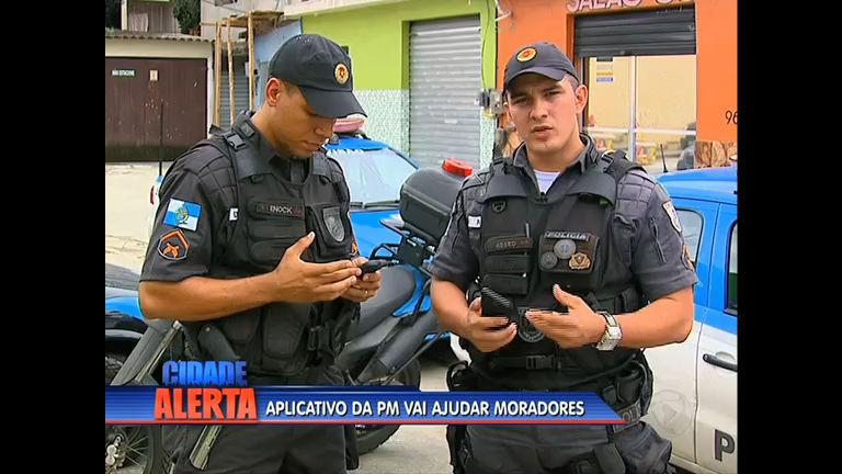 Policiais da UPP da Mangueira criam aplicativo para ajudar moradores