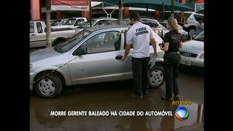 Morre gerente de revendedora de carros baleado na Cidade do Automóvel