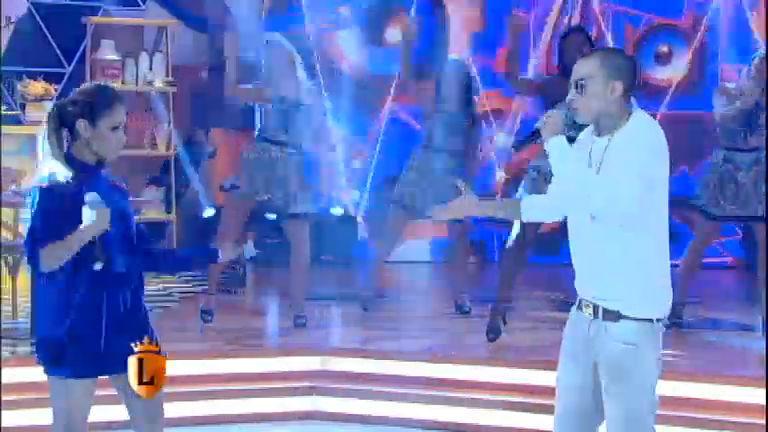 Lexa e Guimê cantam no palco do Legendários - Entretenimento ...