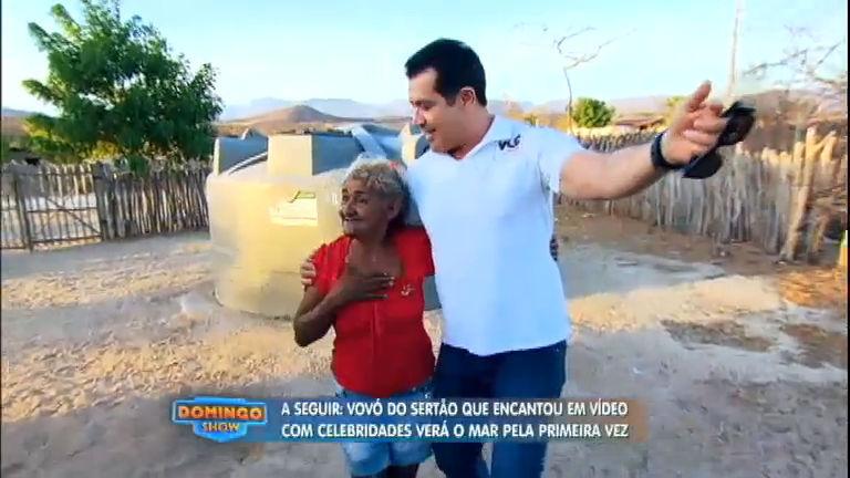 Vovó do Ceará realiza sonho e conhece o ídolo Beto Barbosa ...