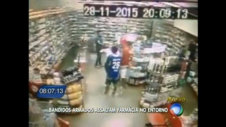 Bandidos armados assaltam farmácia no entorno - Distrito Federal ...