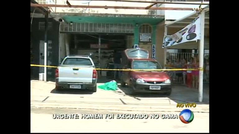 Homem é executado no Gama - Distrito Federal - R7 Balanço Geral ...