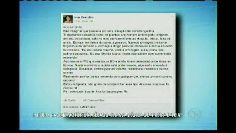 Medica sofre injuria racial no interior da Bahia - Bahia - R7 Balanço ...