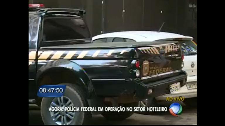 Polícia Federal cumpre mandado de busca e apreensão em hotel de Brasília