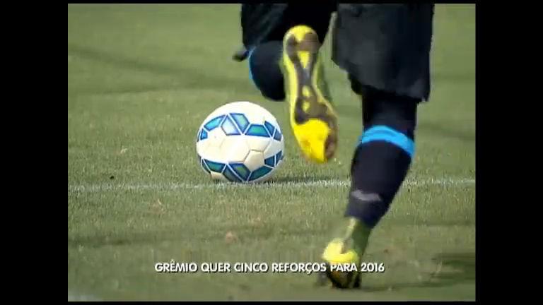 Grêmio quer cinco reforços para 2016