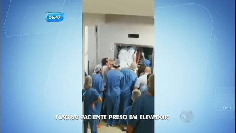 Paciente fica preso em elevador de hospital de Itajaí ( SC) - Notícias ...