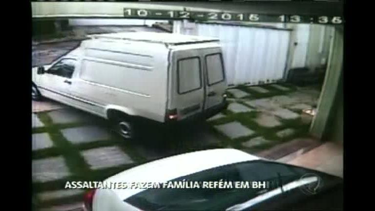 Assaltantes fazem família refém em Belo Horizonte - Minas Gerais ...