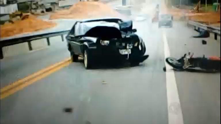 Imprudência: motorista provoca grave acidente na rodovia Raposo ...