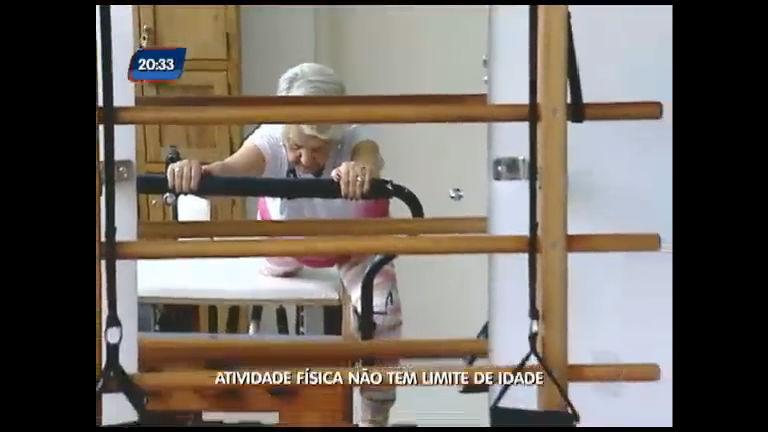 Atividade física não tem limite de idade - Rede Record