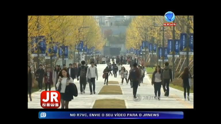 Veja como é a disputa dos estudantes na Coréia do Sul - Record ...