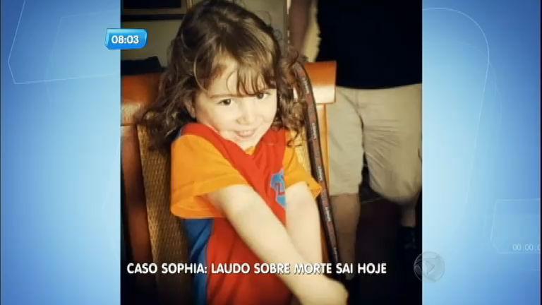 Laudo sobre a morte de Sophia sai nesta quarta-feira ( 16) - Notícias ...