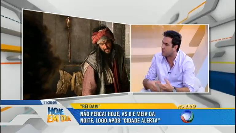 Thierry Figueira fala sobre seu personagem em Rei Davi ...