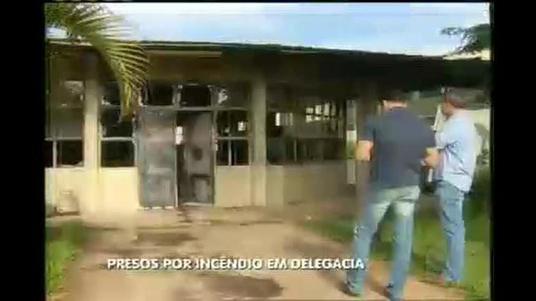 Grupo é preso por incêndio em delegacia da Grande BH - Minas ...