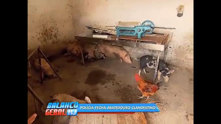 Polícia fecha abatedouro clandestino em São João de Meriti - Rio ...