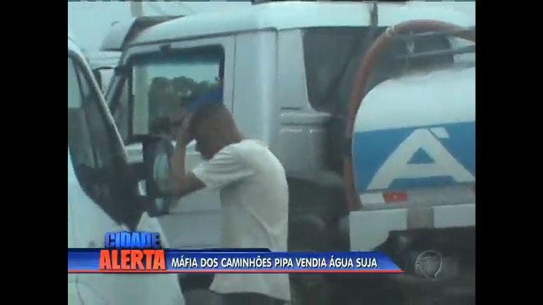 Máfia de caminhões-pipa vendia água suja na baixada - Rio de ...