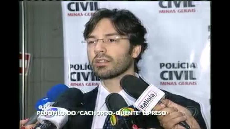 """Pedófilo """"do cachorro-quente"""" é preso - Minas Gerais - R7 MG Record"""